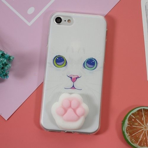 coque iphone 7 loup 3d