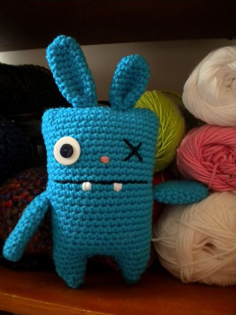 ugly bunnies. free pattern on craftster.