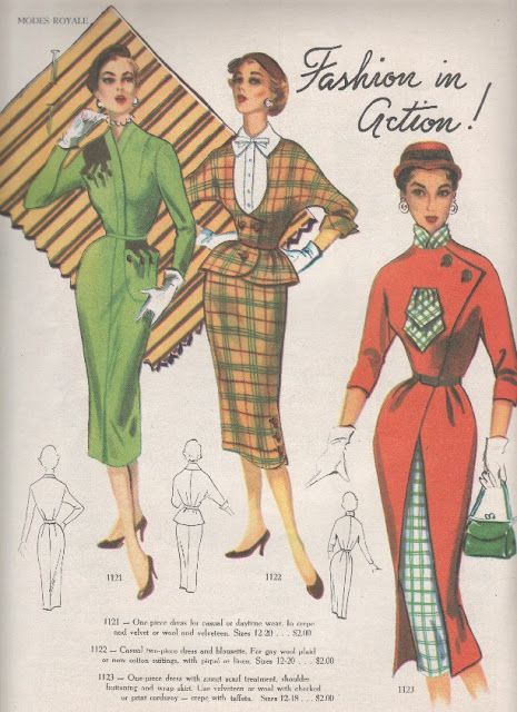 Modes Royale catalogue. This is the Fall/Winter 1952/53 edition. Pattern Book