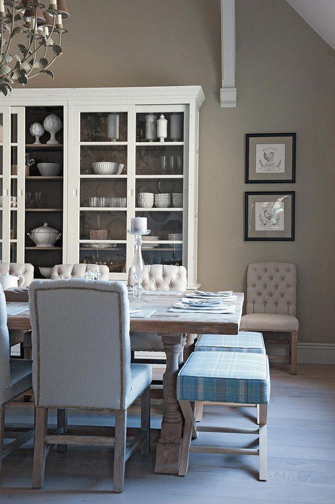 Sala estilo clasico ideas para el hogar pinterest comedores decorar salon y vitrina comedor - Decorar vitrina salon ...