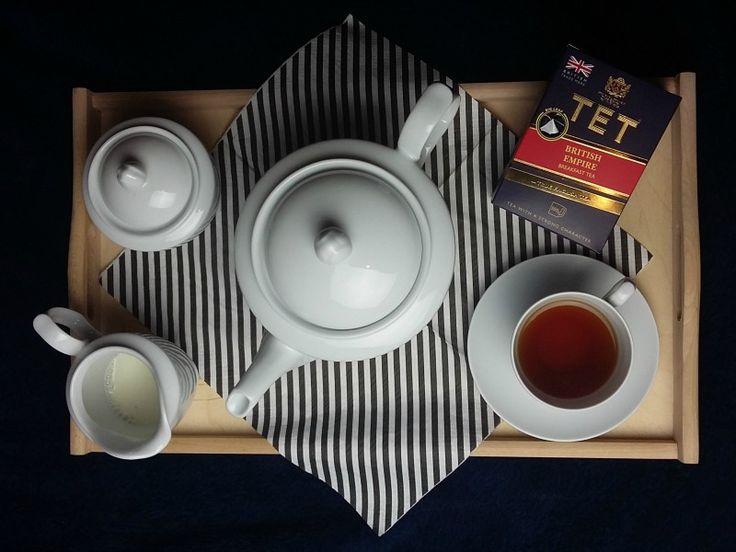 Jak parzyć herbatę? Herbata na rozgrzanie. Test herbaty TET. Konkurs Wygraj podróż marzeń. tradycyjne parzenie czarnej herbaty