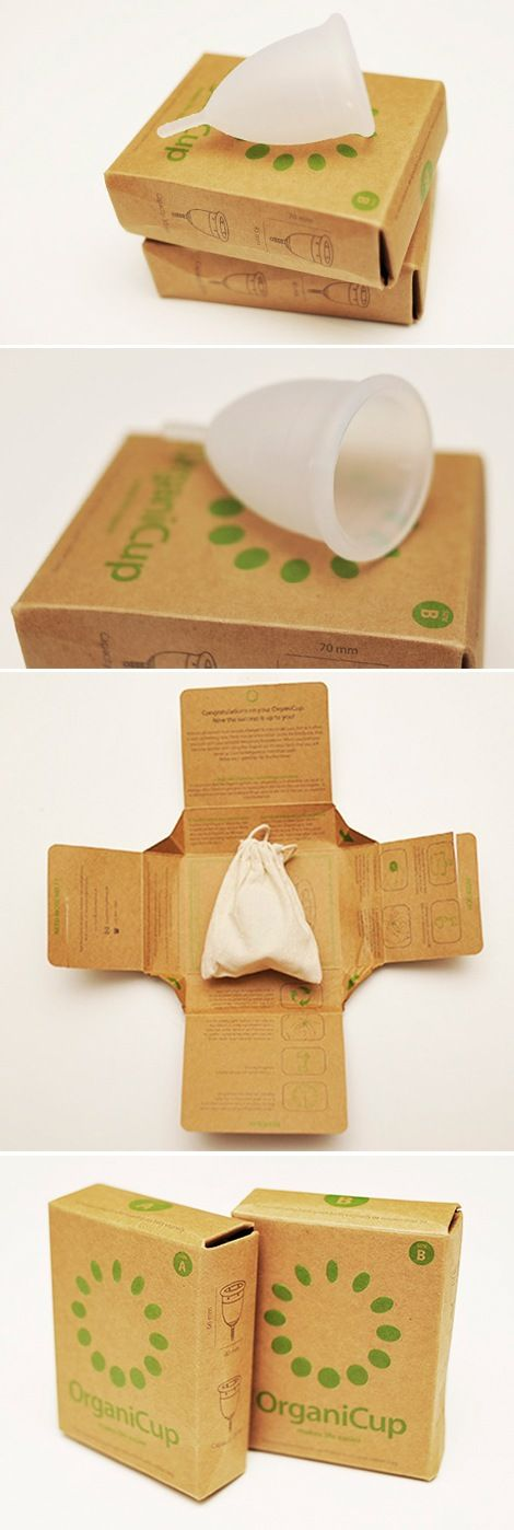 Organicup Menstrual Cup: Available in two sizes.