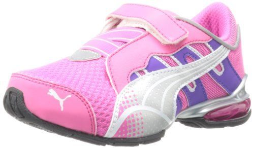 PUMA Voltaic 3 V Kids Running Shoe (Toddler/Little Kid/Big Kid),Fluorescent Pink/PUMA Silver/White,4 M US Toddler PUMA,http://www.amazon.com/dp/B00B53CCSY/ref=cm_sw_r_pi_dp_e8bBsb12WB4MW09E