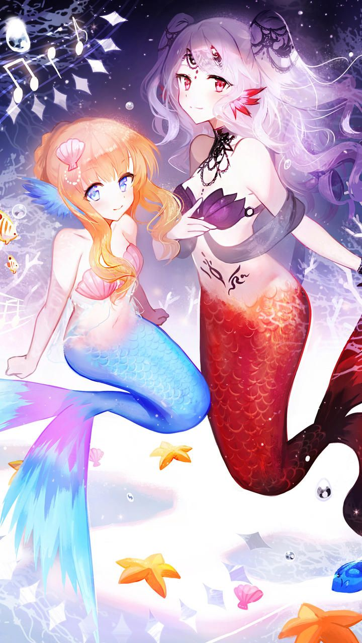 17 Best Anime Mermaid Images On Pinterest