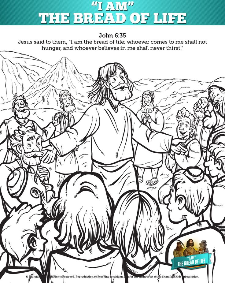 8 Images Found In John 6 Bread Of Life Kids Bible Lesson A Sunday School On Where Jesus Declares Himself To Be The