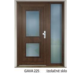 GAVA 225 Nussbaum vchodové dvere
