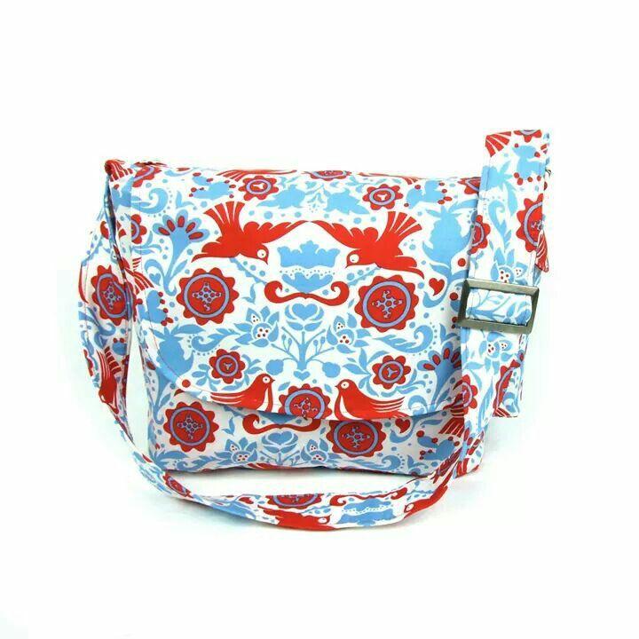 Paloma Dove Messenger Bag - Plus Size - Curvy Fashion - Bold - Unique - Renegade