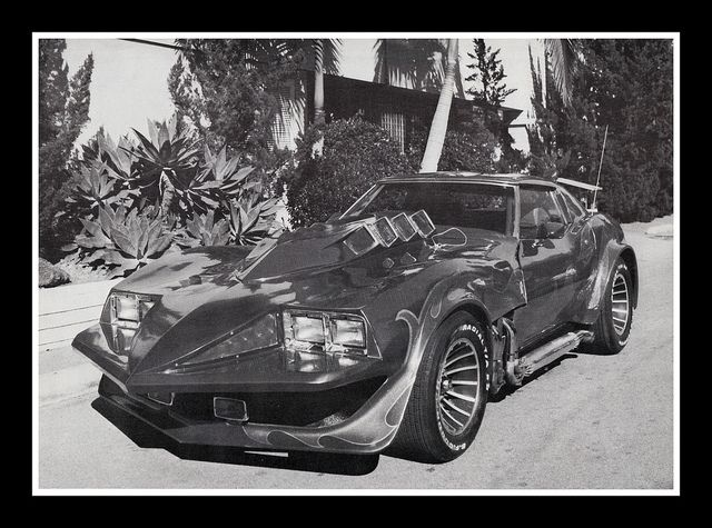 """Corvette Summer"" Movie Car, 1979 by Cosmo Lutz, via Flickr"