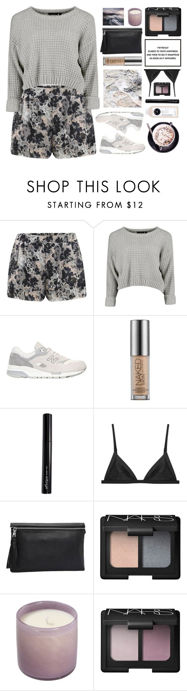 """Untitled #2573"" by tacoxcat ❤ liked on Polyvore featuring ONLY, New Balance, Urban Decay, Antonym, NARS Cosmetics and Music of the Spheres"
