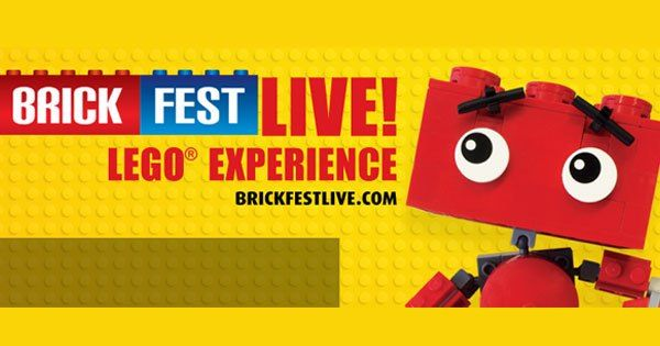 The Brick Fest Live LEGO® Fan Experience is filled with hands-on attractions and activities engineered to inspire, educate, and entertain. #Sacramento4kids #Sacramento #Kids #Events #Things #To #Do