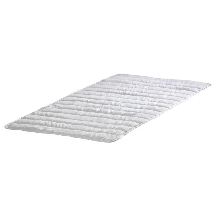 IKEA - NATTLIG, Protection matelas étanche, , La couche interne imperméable protège le matelas.Les élastiques aux quatre coins maintiennent l'alèse bien en place sur le matelas.S'enlève rapidement, facile à laver.