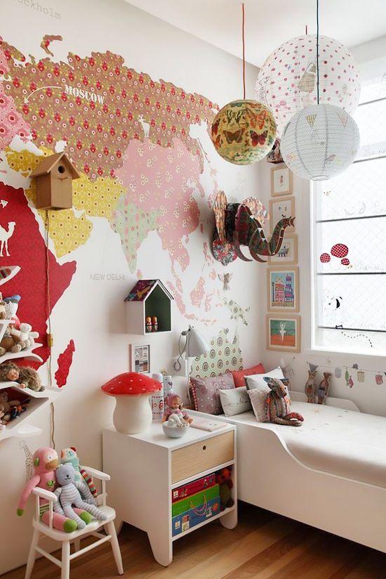 Nice Inspirierende Kinderzimmer Deko Ideen f r das sch nste Zimmer Das Kinderzimmer zu dekorieren kann auf ganz unterschiedliche Art und Weise in der Tat