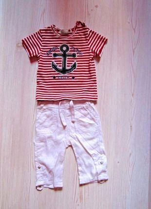 Kupuj mé předměty na #vinted http://www.vinted.cz/deti/miminka-chlapecek/12521937-sea-style-set-tricko-a-kalhoty