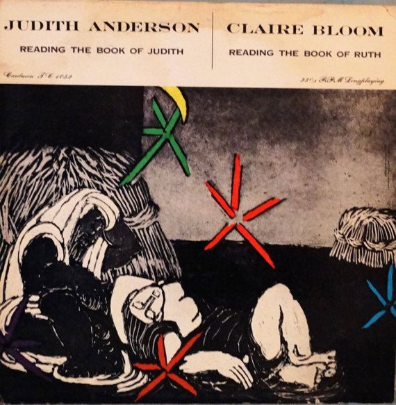 Reading The Book Of Judith  Judith Anderson Claire by DorenesXXOO