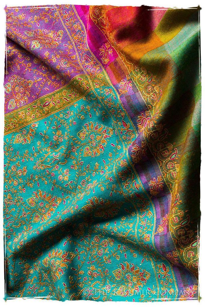 The Silk Road - Pashmina Shawl