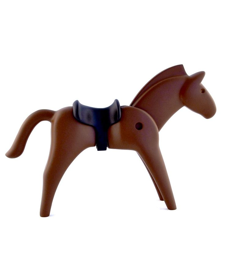 PLAYMOBIL: THE BROWN HORSE - 23 cm resin statue