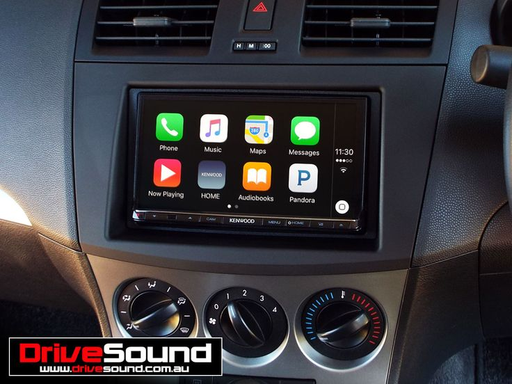 Mazda 3 with Apple CarPlay installed by DriveSound