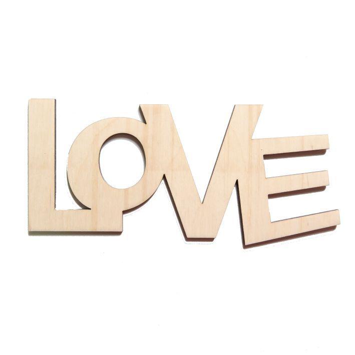 Napis Drewniany Na Sciane 3d Love Rozne Wzory Symbols Letters Ampersand