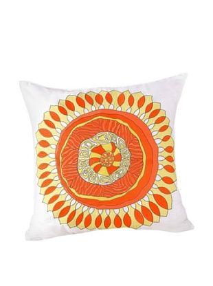 Trina Turk Wave Stripe Medallion Pillow, Multi, 20