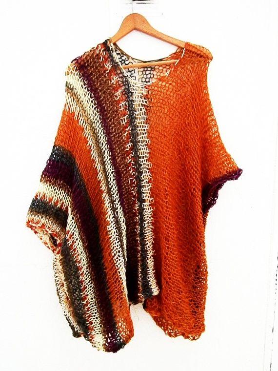 Vestido / Blusa / túnica suelta Top / Jersey, Punto, Ropa