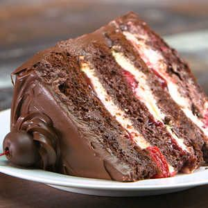 Our Best Cake Mix Recipes | Easy Black Forest Cake  | MyRecipes