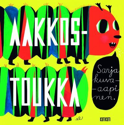 Aakkostoukka exhibition in Galleria Kulma, Kuopio