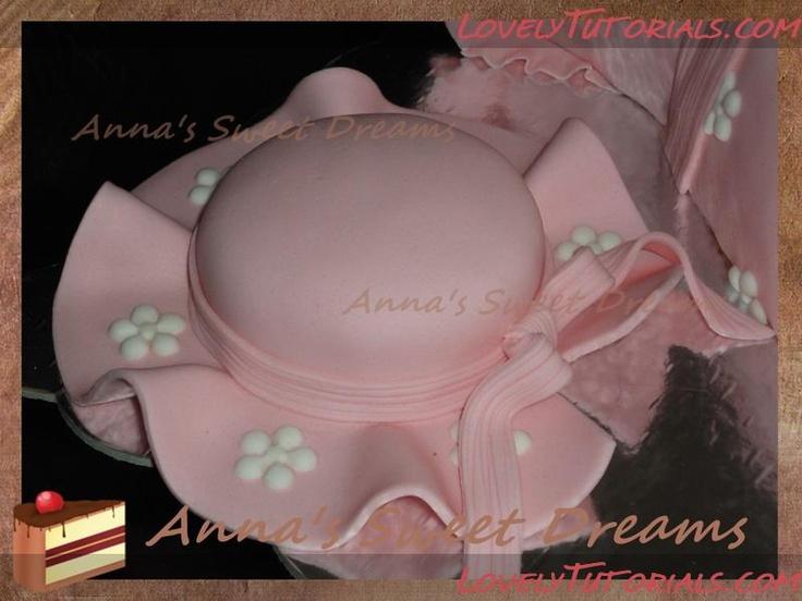 Как собрать и украсить торт в виде платья и шляпки для маленькой девочки -Baby girl dress and hat cake tutorial - Мастер-классы по украшению тортов Cake Decorating Tutorials (How To's) Tortas Paso a Paso