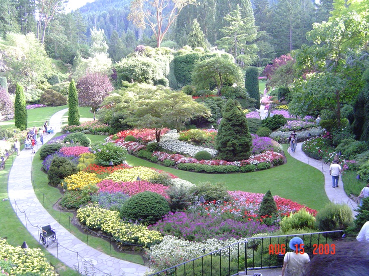 Buchart Gardens - Victoria, Canada. Have been twice; would go again and again. So beautiful; it changes with the seasons. Well worth the trip.