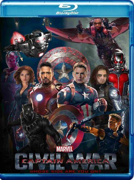 Первый мститель: Противостояние / Captain America: Civil War [IMAX EDITION] (2016/BDRemux/BDRip/HDRip/3D)  В ходе очередной операции Мстителей Ванда случайно отправляет на тот свет десяток граждан африканской страны Ваканда. Мировые лидеры приходят к выводу, что Мстителей нужно контролировать — супергероев просят подписать свод правил, согласно которым они не смогут действовать без разрешения сверху. Тони Старк и часть членов команды согласны с ограничениями, Стив Роджерс выступает против, и…