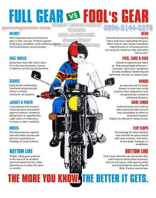 Prinsip Safety Riding Yang Harus Diketahui Bikers