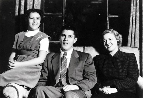 President Obama's mother, Ann Dunham, his grandfather, Stanley Armour Dunham, and his grandmother, Madelyn Lee Payne <3