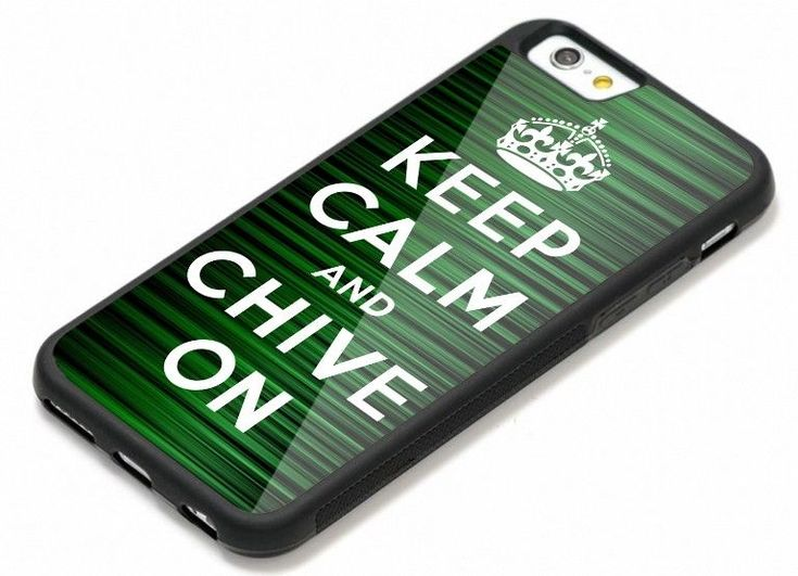 Keep Calm and Chive On Green Master iPhone 6 6s 7 7+ 8 8+ X Hard Plastic Case #UnbrandedGeneric #Cheap #New #Best #Seller #Design #Custom #Gift #Birthday #Anniversary #Friend #Graduation #Family #Hot #Limited #Elegant #Luxury #Sport #Special #Hot #Rare #Cool #Top #Famous #Case #Cover #iPhone #iPhone8 #iPhone8Plus #iPhoneX