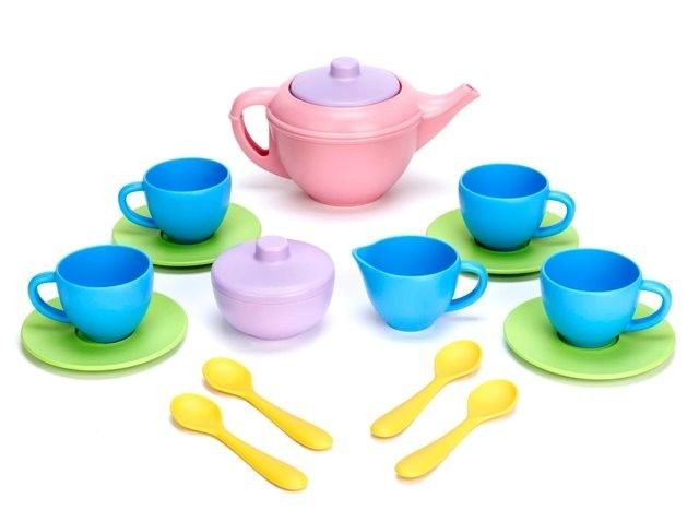Green Toys - Eco Friendly Tea Set - Christmas Catalogue - Shop  Tea sets are great and our current one is in need of replacement.  Perfect for those tea parties with both the kids and the dolls #EntropyWishList and #PinToWin
