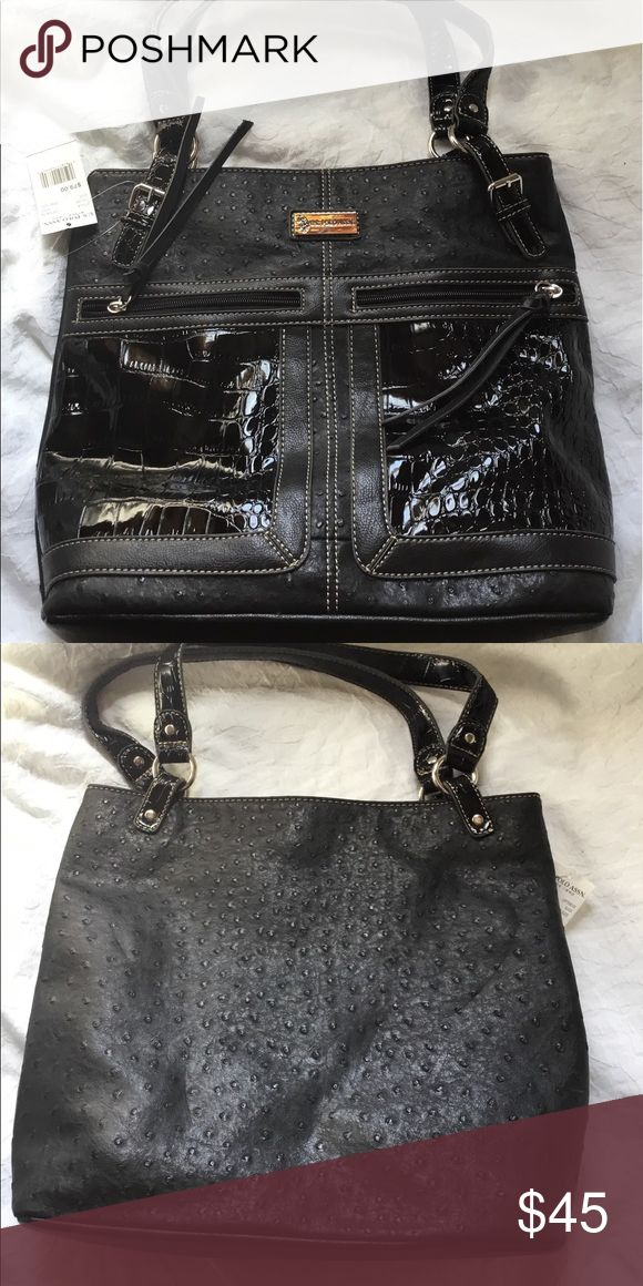 I. S. Polo Assn handbag Brand new with tags black U.S. Polo Assn. Bags Shoulder Bags