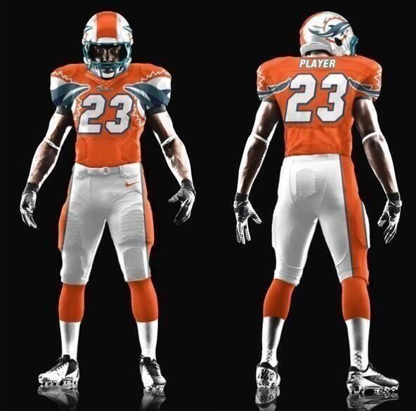 Dolphin Miami New Nfl Uniforms Nfl New Dolphins Uniform
