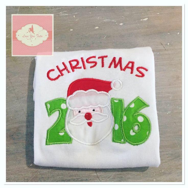 Embroidered Christmas 2016 design