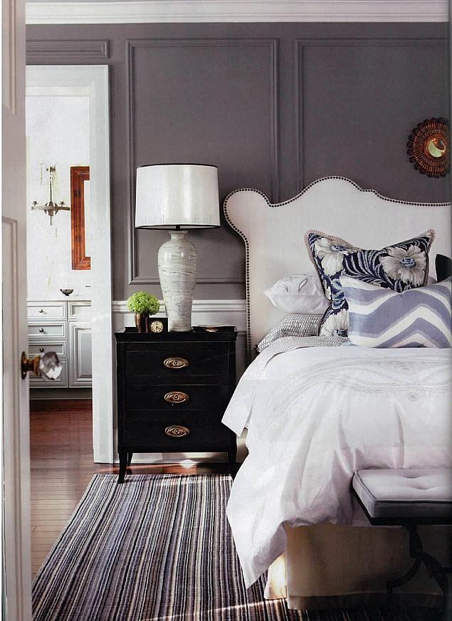C R I B S U I T E  #interior #design #decor #house #home #real estate #cribsuite love the dark grey - Sarah Richardson Chatelaine February 2013