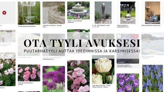 Kun olet löytänyt mieleisen puutarhatyylisi ja haluat pitää siitä kiinni, kysy itseltäsi seuraavat kolme kysymystä aina uutta yksityiskohtaa puutarhaan lisätessäsi >> http://www.puksipuu.com/puutarhatyyli-auttaa-suunnittelussa/