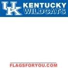 Kentucky Wildcats Banner 8' x 2'
