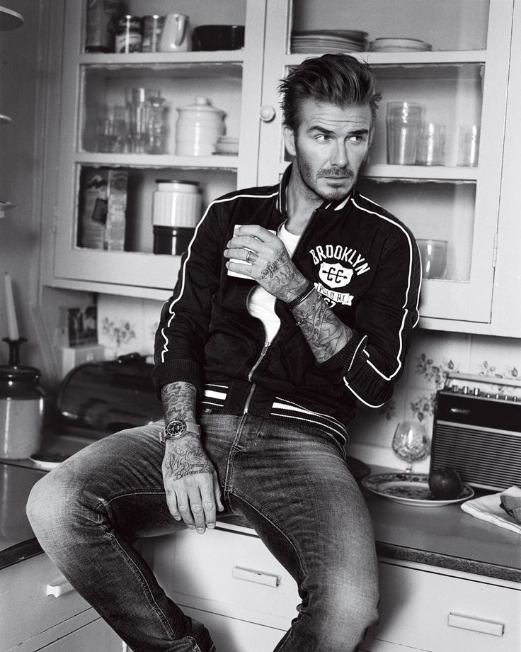 Kinda' hoping David Beckham stops by for a BH Brew  Photos: David Beckham's GQ Cover Shoot | GQ