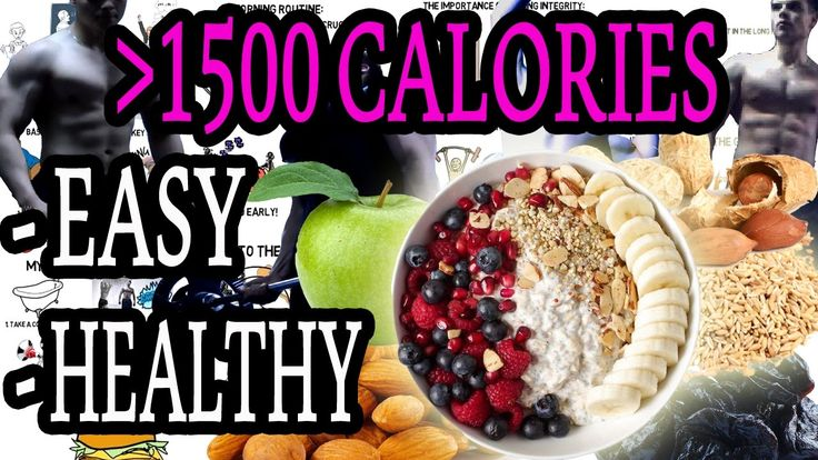 Easy and healthy high calorie breakfast!