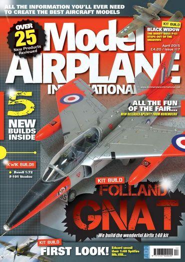 Model Airplane International #117 - April 2015