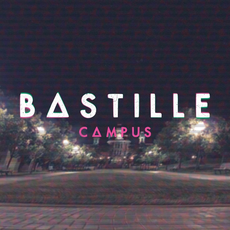 #Bastille album artwork for their unreleased single Campus! Just another brain on the campus, just another man in the field