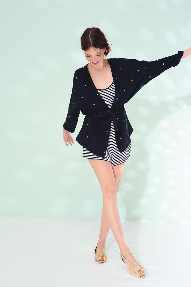 Veste talouette palmito - veste 100% coton - des petits hauts 2