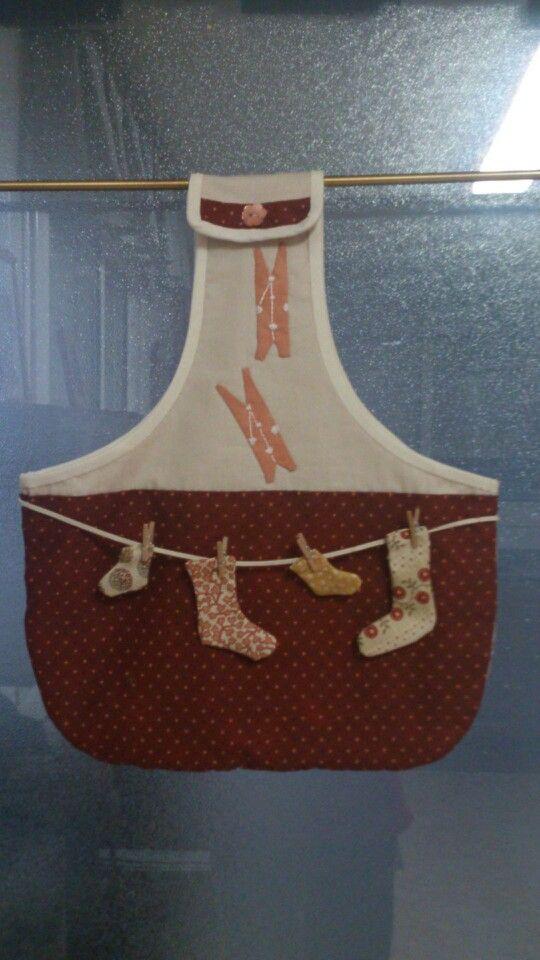 1000 images about ideas en telas en pinterest for Porta ganchos de ropa