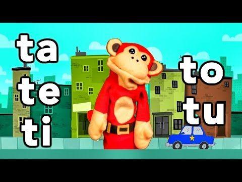 Sílabas ta te ti to tu - El Mono Sílabo - Videos Infantiles - Educación para Niños # - YouTube