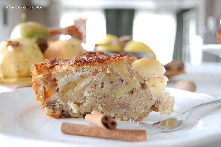 Apple cake, christmas cake, bolo de maça canela e nozes, bolo de natal