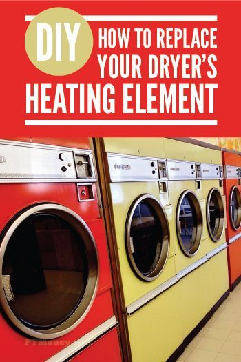 Has your dryer stopped drying? If it is still blowing air and it is just not hot, read PT's post about changing the heating element. This easy fix could get your dryer going again for a fraction of the cost of a new one. http://ptmoney.com/how-to-replace-heating-element-in-dryer/
