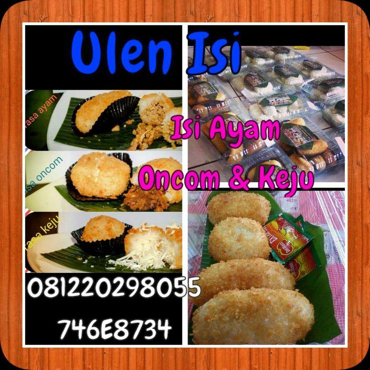Ulen Isi, modifikasi traditional Food...kota bandung...min 5 box...1 box isi 10(4ayam,3oncom3keju).@35rb mentah ,matang 40rb