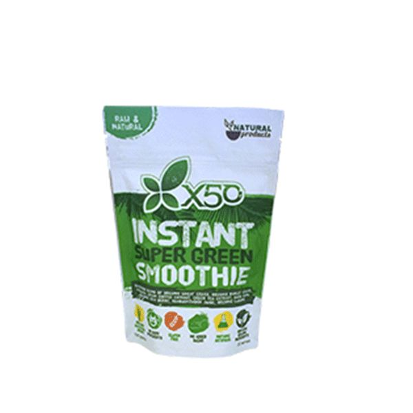 Tribeca Health X50 Instant Green Smoothie - Second To None Nutrition